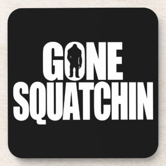 Gone Squatchin Beverage Coasters