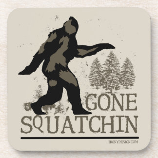 Gone Squatchin Drink Coasters