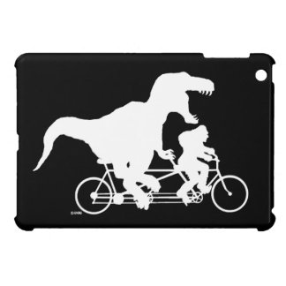 Gone Squatchin cycling with T-rex Case For The iPad Mini