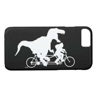 Gone Squatchin cycling with T-rex iPhone 8/7 Case
