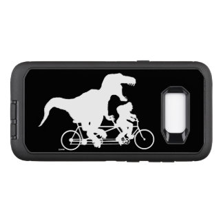 Gone Squatchin cycling with T-rex OtterBox Defender Samsung Galaxy S8+ Case