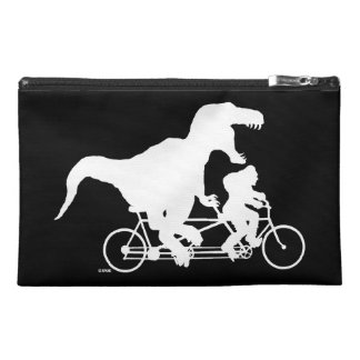 Gone Squatchin cycling with T-rex Travel Accessory Bag