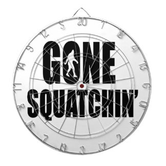 Gone Squatchin' Dartboards