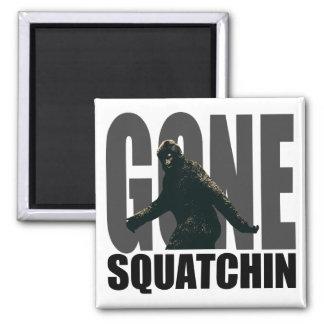 Gone SQUATCHIN - Deluxe Version Fridge Magnets