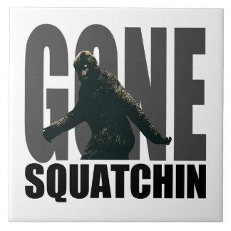 Gone SQUATCHIN - Deluxe Version Ceramic Tile