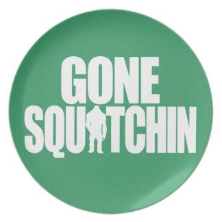Gone Squatchin Dinner Plate
