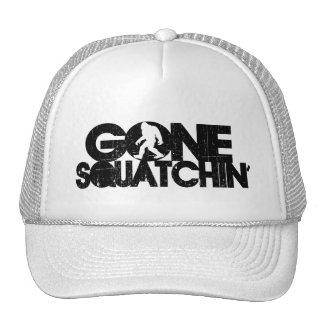 Gone Squatchin Distressed Cap