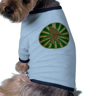 Gone Squatchin Doggie Shirt