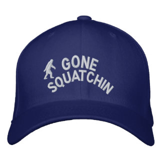 Gone Squatchin Embroidered Cap