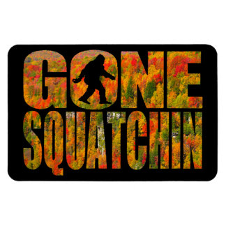 Gone Squatchin **Fall Foliage Edition** Magnet