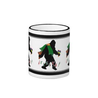 Gone Squatchin - Fiesta Squatchin Coffee Mugs