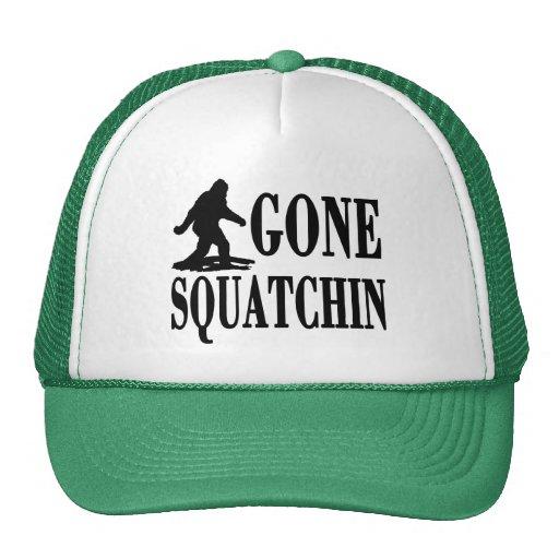 Gone Squatchin, Finding Bigfoot, Trucker Trucker Hats