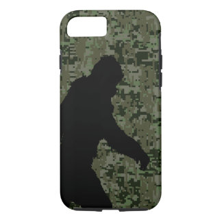 Gone Squatchin For on Olive Digital Camouflage iPhone 7 Case
