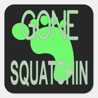Gone Squatchin Gifts Square Sticker