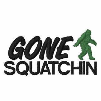 Gone Squatchin, Green and Black Stitching