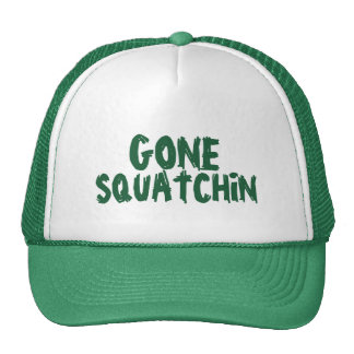 Gone Squatchin' Green Cap