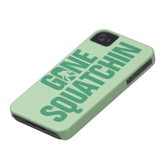 Gone Squatchin - Green Case-Mate iPhone 4 Cases
