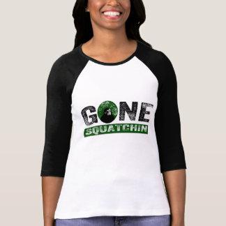 Gone Squatchin (Green) Grunge Squatch Shirt