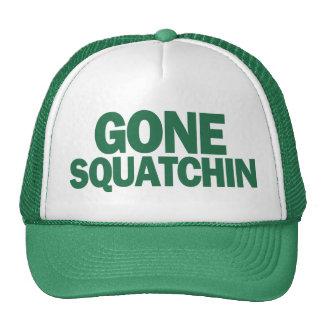 Gone Squatchin Green Hat