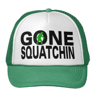 Gone Squatchin (green logo) Cap