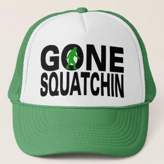Gone Squatchin (green logo) Trucker Hat