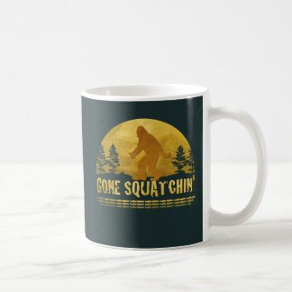 Gone Squatchin' Green Coffee Mugs