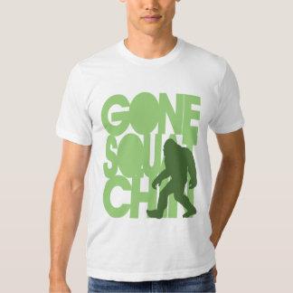 Gone Squatchin' - Green Silhouette Shirts