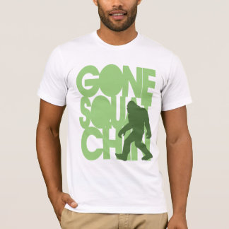Gone Squatchin' - Green Silhouette T-Shirt