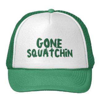 Gone Squatchin Green Trucker Hats