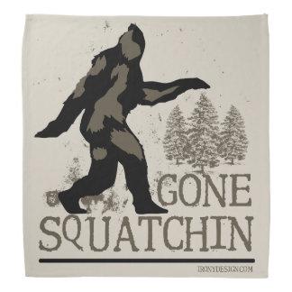 Gone Squatchin Head Kerchief