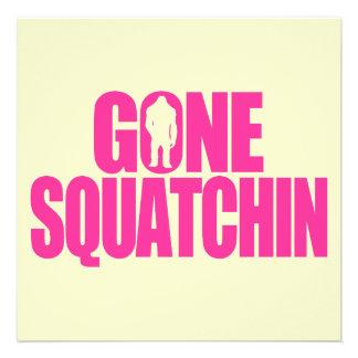 Gone Squatchin Announcements