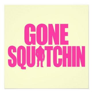 Gone Squatchin Invite