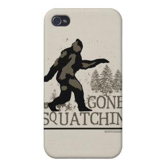 Gone Squatchin iPhone 4/4S Cover