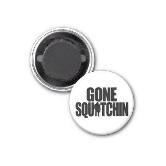 Gone Squatchin Magnet