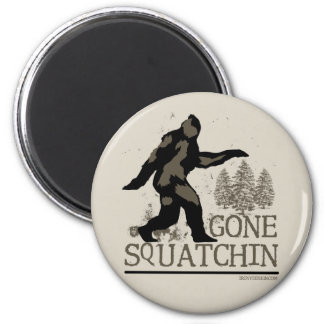 Gone Squatchin Refrigerator Magnets