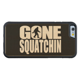 Gone Squatchin Maple iPhone 6 Bumper