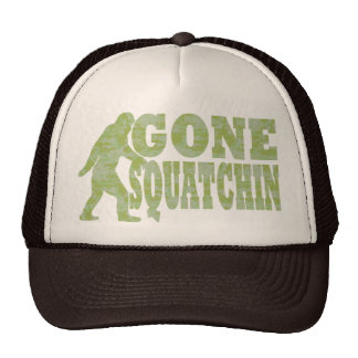 Gone Squatchin Mesh Hats