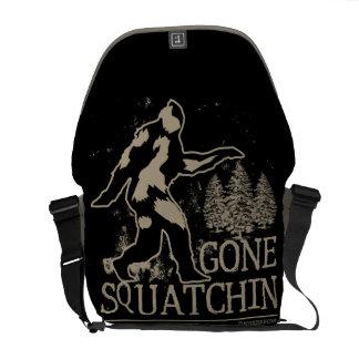 Gone Squatchin Messenger Bag