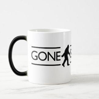 Gone Squatchin Morphing Mug