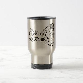 Gone Squatchin Coffee Mugs