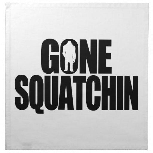 Gone Squatchin Napkin