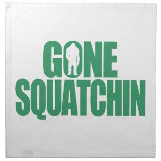 Gone Squatchin Cloth Napkin