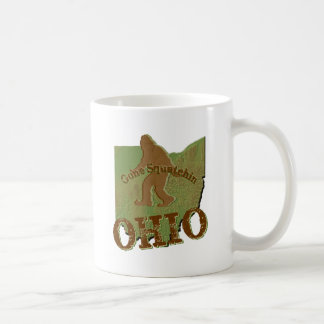 Gone Squatchin Ohio Coffee Mug