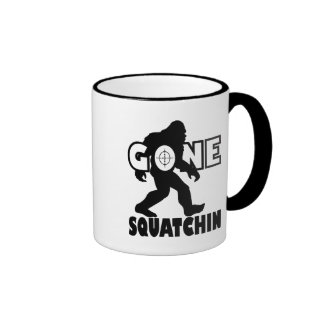 Gone Squatchin on Target Mugs