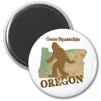Gone Squatchin Oregon Magnet