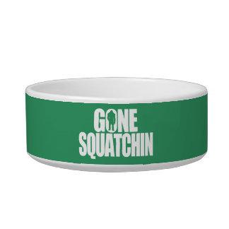 Gone Squatchin Pet Bowl