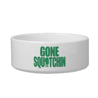 Gone Squatchin Pet Water Bowl