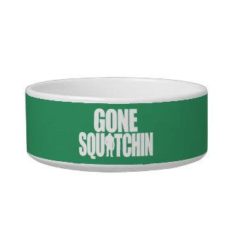 Gone Squatchin Pet Water Bowls