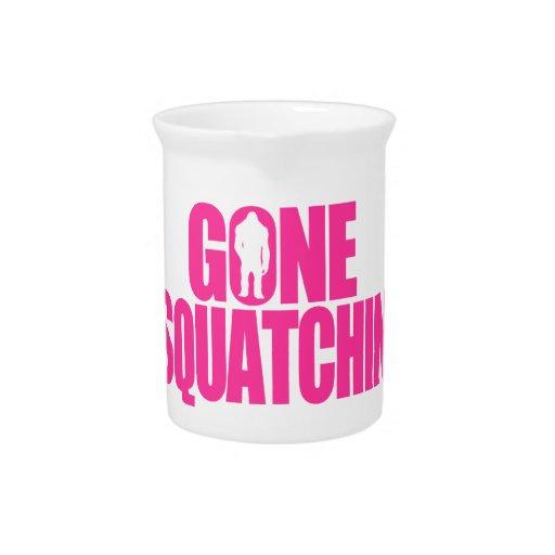 Gone Squatchin Drink Pitcher