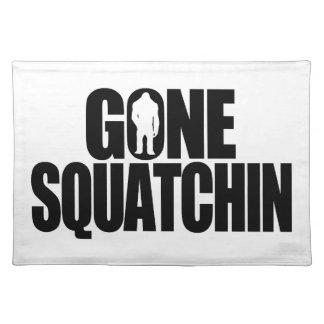 Gone Squatchin Place Mat